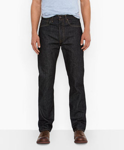 Levi's Black 501 STF Rigid 1