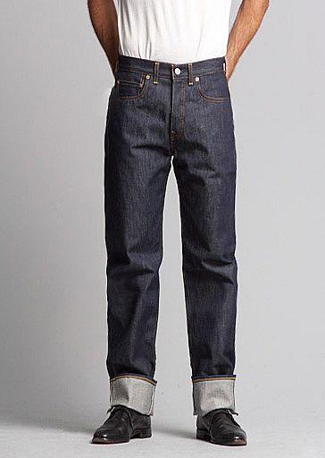 Vintage Scout Clothing 1890 Jeans 501 Rigid Denim Heddels Levi's Raw 7gwqFvgd