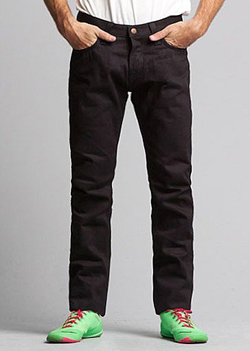 Big John Slim Tapered Overdyed Black 12oz 1