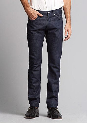 Brooklyn Denim Co Skinny Jean 13.5oz Raw Tonal 1