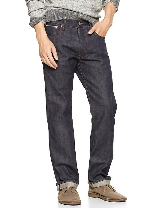 Gap 1969 Straight Fit Selvedge 1