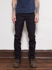 Left Field Indigo Selvedge Duck Chelsea 1