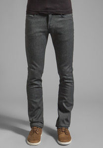 Naked & Famous Heather Gray Stretch Skinny Guy 1