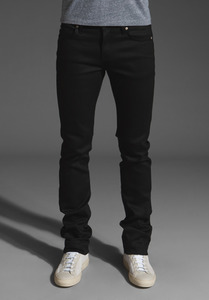 Naked & Famous Black Power Stretch Skinny Guy 1