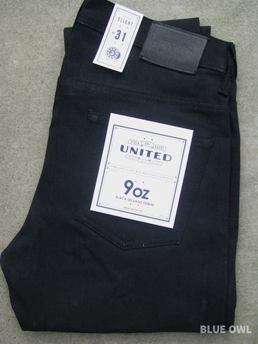 United Stock Dry Goods Slight Overdyed Black 1