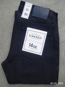 United Stock Dry Goods Slight Overdyed Indigo 1
