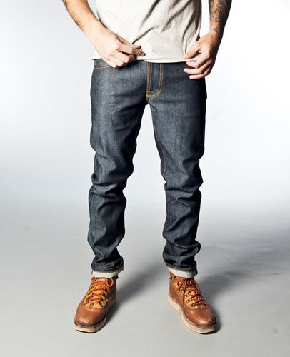 Nudie Thin Finn Organic Dry Heavy Selvage 1