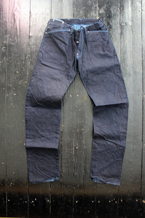 Tender Co. Type 129 Woad Denim 1