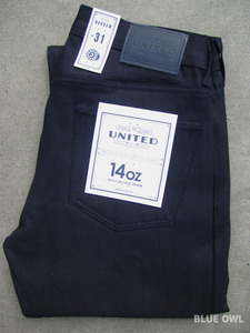 United Stock Dry Goods Narrow Overdyed Indigo 1