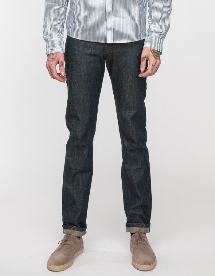 Naked & Famous Weird Guy Jade Selvedge 1