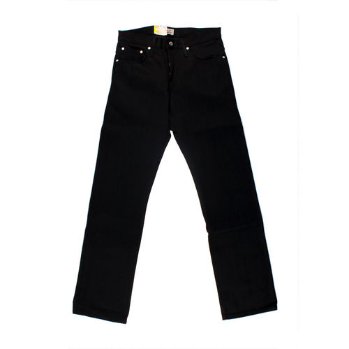 Naked & Famous Slim Guy Solid Black 1