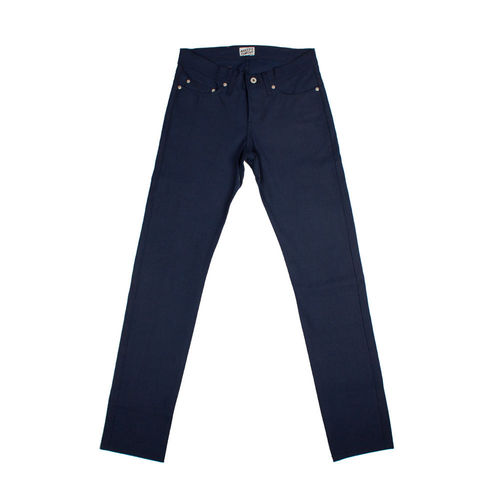 Naked & Famous Skinny Guy Indigo Selvedge Duck 1