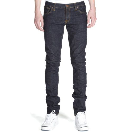 Nudie High Kai Organic Twill Navy 1