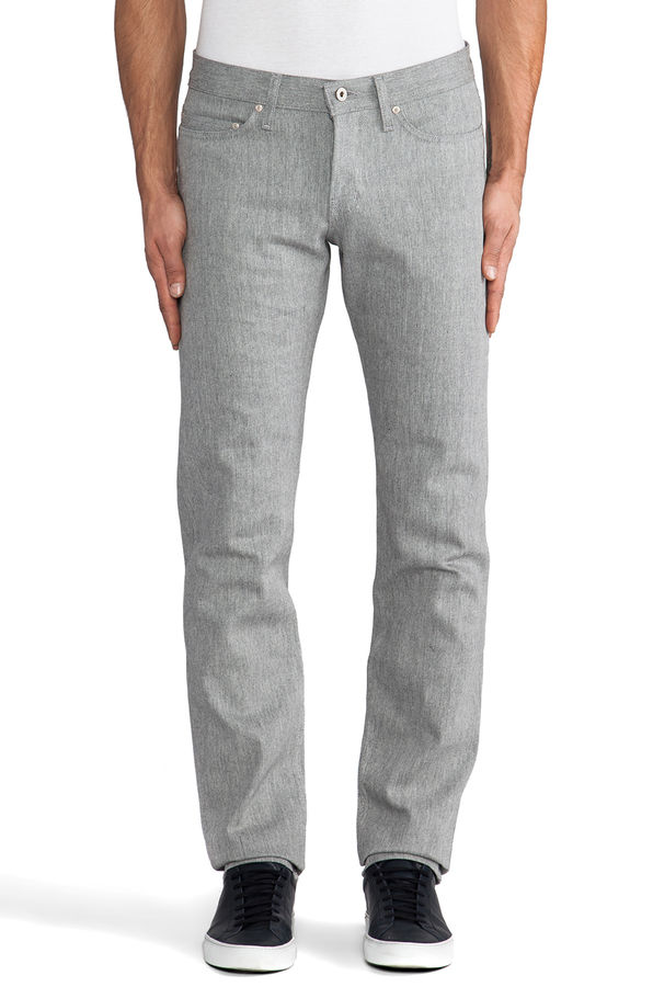Naked & Famous Arctic Selvedge Weird Guy 1