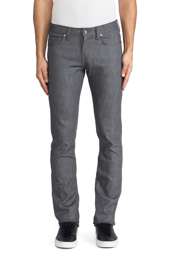 Naked & Famous Grey Stretch Skinny Guy 1