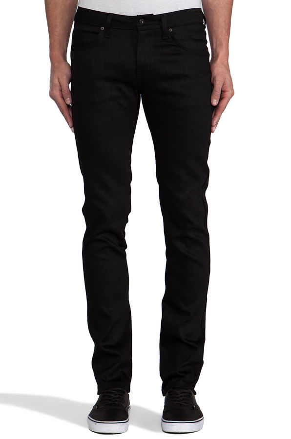 Naked & Famous Black Power Stretch Super Skinny Guy 1