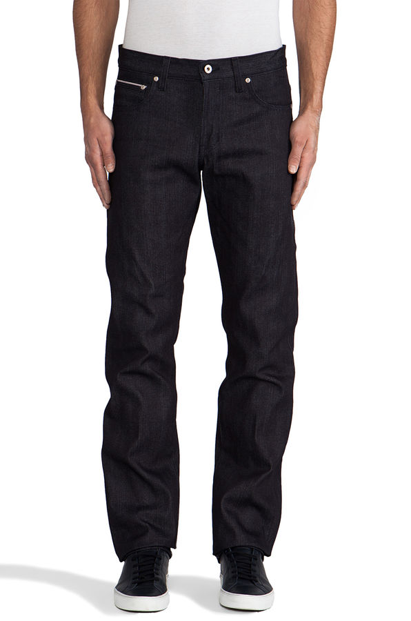 Naked & Famous Broken Twill Slim Guy 1