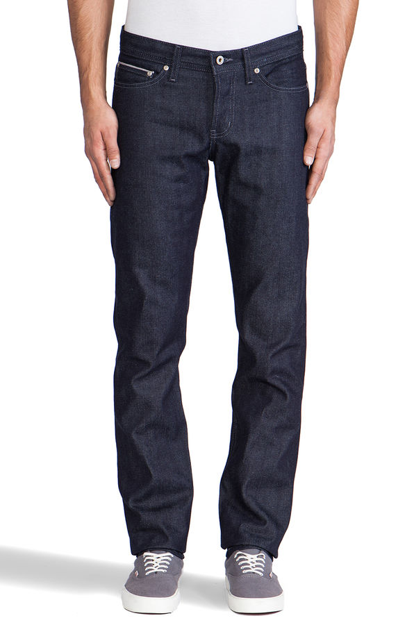 Naked & Famous Tonal Stitch Weird Guy 1