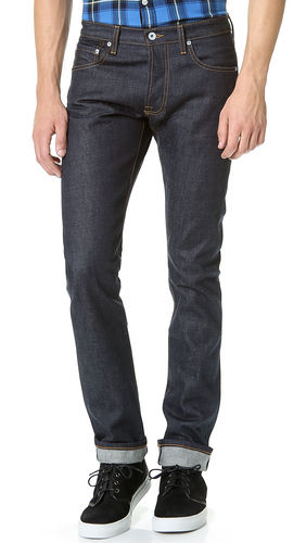 Baldwin Denim The Henley in 13oz Nihon Menpu 1