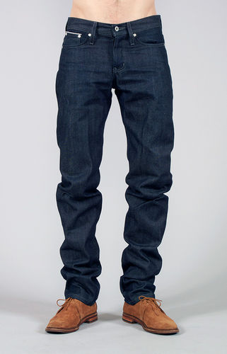 Naked & Famous Weird Guy Indigo Front Fit