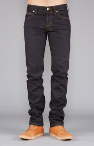 Naked & Famous Skinny Guy Deep Indigo Stretch Front Fit