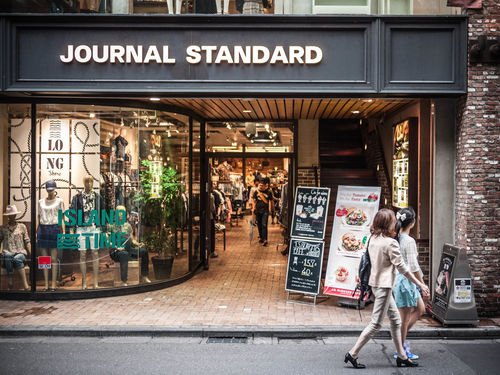 Journal Standard Shibuya Japan 1