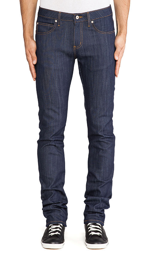Naked & Famous Skinny Guy Natural Indigo Power Stretch 3
