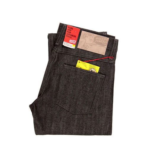 Naked & Famous Slim Guy Black Selvedge 1