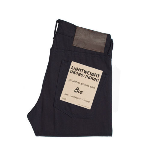 Naked & Famous Slim Guy Lightweight Indigo/Indigo 1