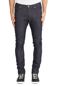 Naked & Famous Stacked Guy Indigo Power Stretch 1
