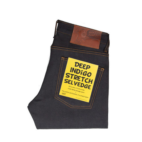 Naked & Famous Super Skinny Guy Deep Indigo Stretch Selvedge 1