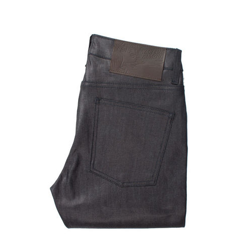 Naked & Famous Super Skinny Guy Indigo Wax Coated 1