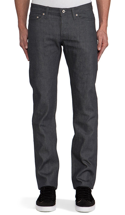 Naked & Famous Weird Guy Grey Selvedge 1