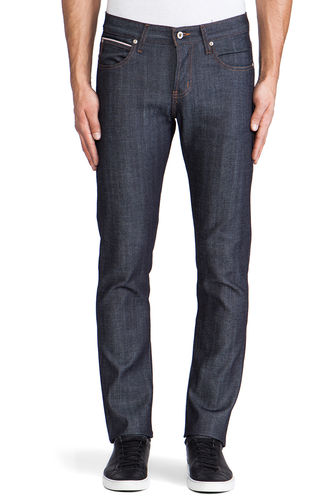 Naked & Famous Super Skinny Guy Stretch Selvedge Front Fit