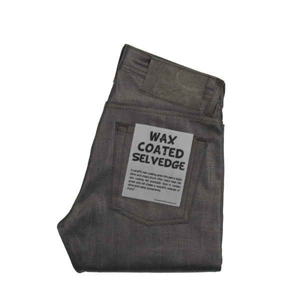 Naked & Famous Weird Guy Wax Coated Selvedge 1