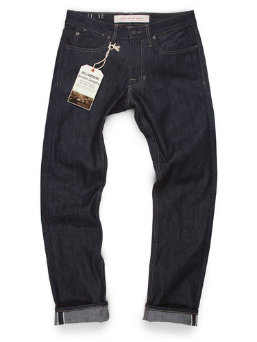 Williamsburg Garment Company Lightweight Raw Selvedge Jeans Slim - Grand Street 1