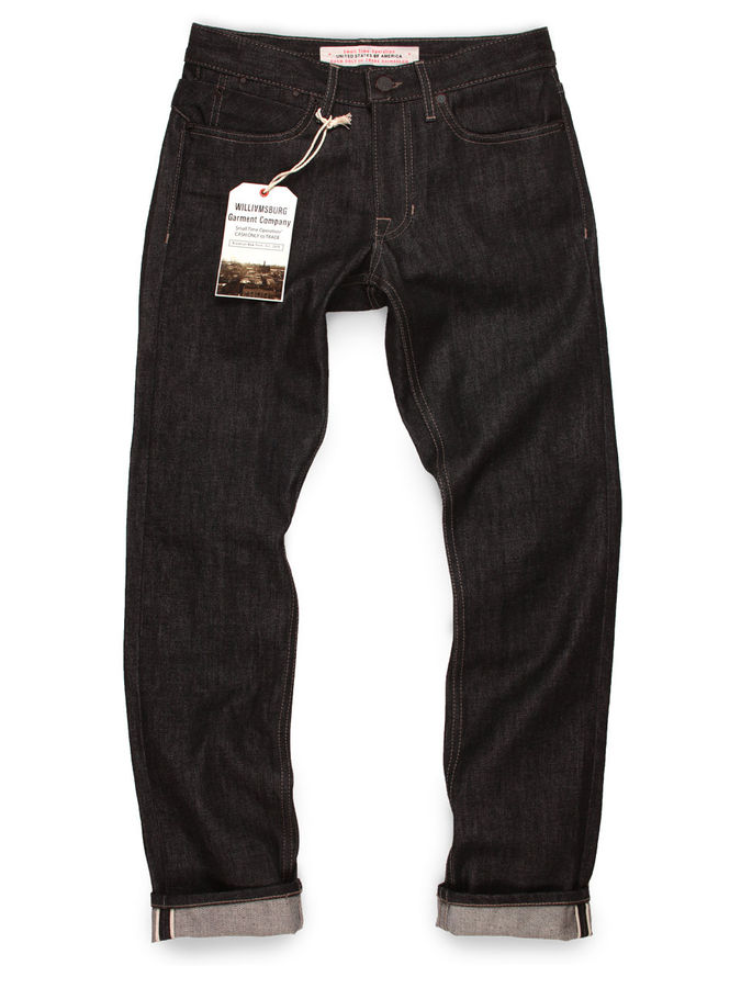 Black Denim Jeans Mens