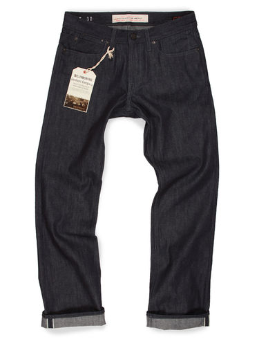 Williamsburg Garment Company Lightweight Raw Selvedge Jeans Relaxed - South 2nd Street 1