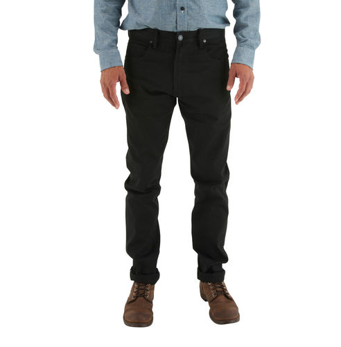 Freenote Cloth Avila Slim - Black 10 oz. Japanese Denim Front Fit