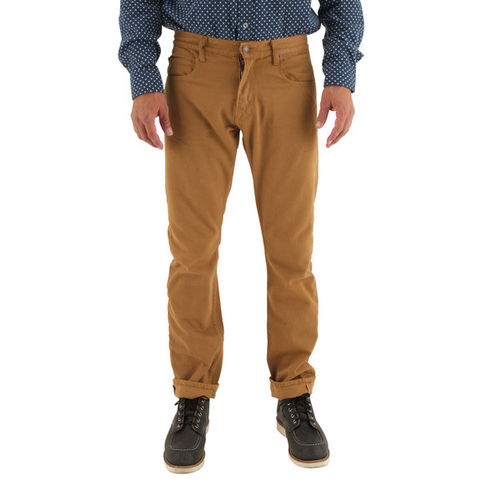 Freenote Cloth Avila Slim Tobacco Front Fit