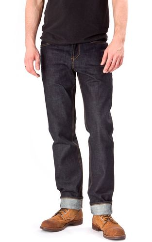 Hiut Denim Co Hack Slim 14 oz. Front Fit