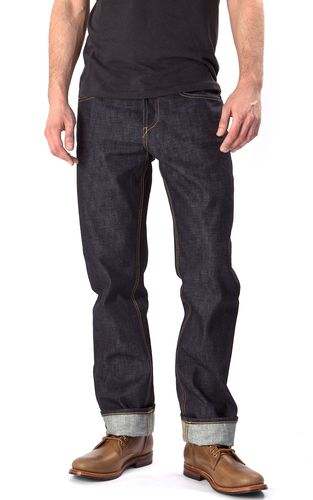 Hiut Denim Co Organic Regular Work Front Fit