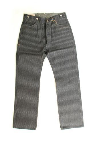 Blue Blanket Jeans IJJ Front