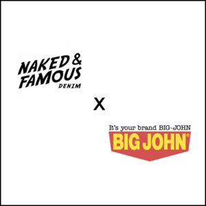 Naked & Famous x Big John Raw Denim Jeans