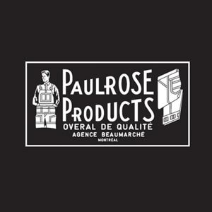 Paulrose Products Montreal Canada Raw Denim Jeans